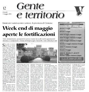 Gente e territorio - 30 aprile 2014 - provincia di Cremona (delegazione di Cremona - Arch. Luciano Roncai)