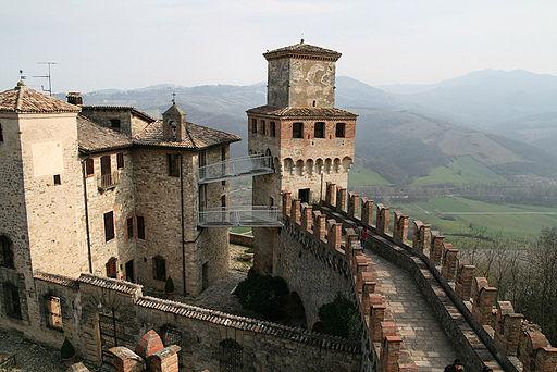 Castello di Vigoleno - foto di Davide Bolsi