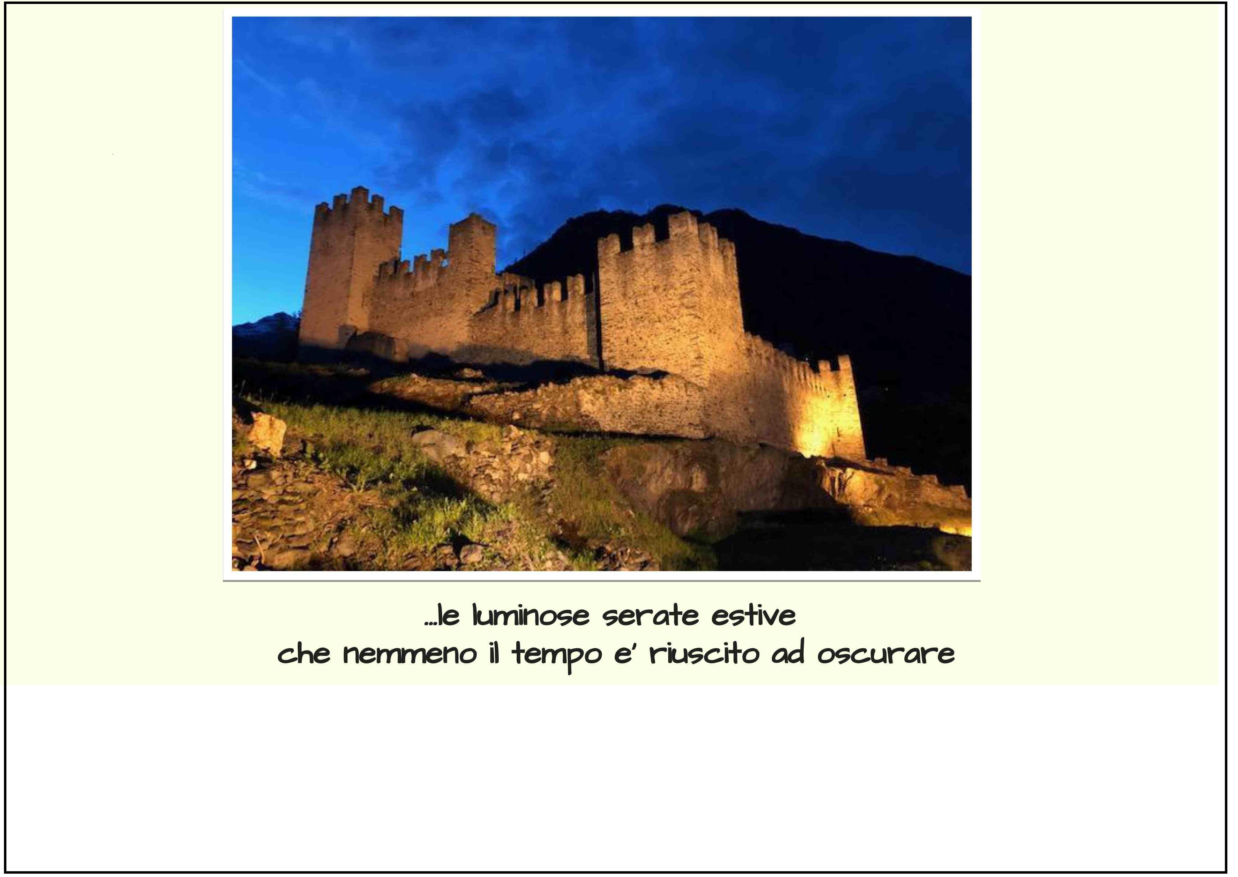 I castelli raccontano....